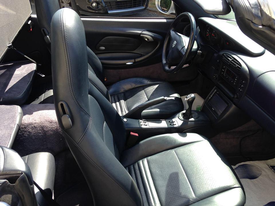 porsche 911 996 cabriolet 3 4 carrera 4 du 116 200 kms vendu sarl auto vo. Black Bedroom Furniture Sets. Home Design Ideas
