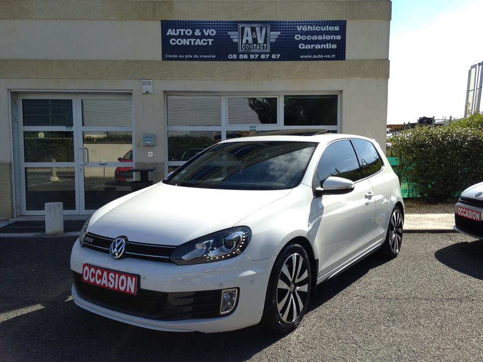 volkswagen golf 6 gtd 2 0 tdi 170 fap dsg 6 du 110 950 kms vendu sarl auto vo. Black Bedroom Furniture Sets. Home Design Ideas