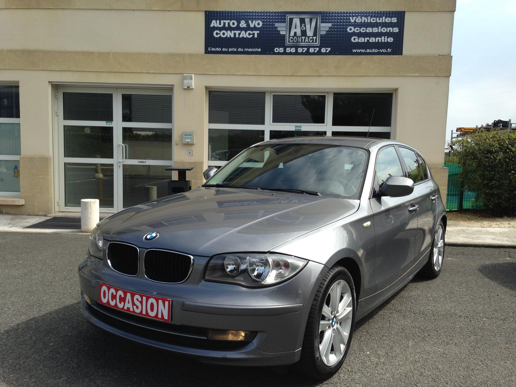 bmw serie 1 e87 118 da confort du 100 250 kms vendu sarl auto vo contact. Black Bedroom Furniture Sets. Home Design Ideas