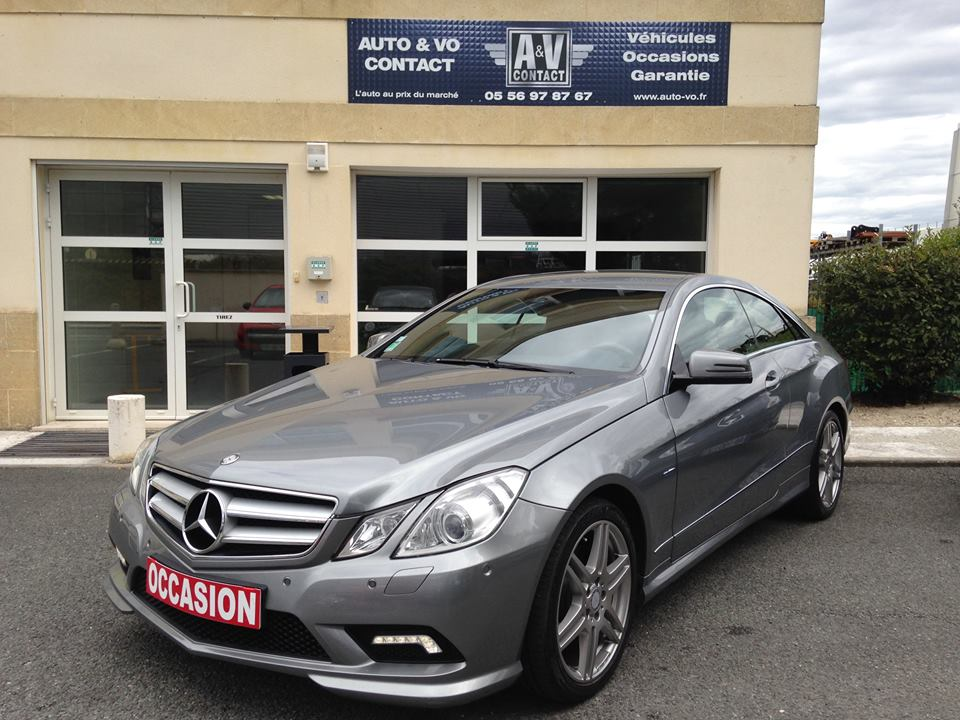 mercedes benz classe e 350 cdi coupe amg 7g tronic du 148 500 kms vendu sarl. Black Bedroom Furniture Sets. Home Design Ideas
