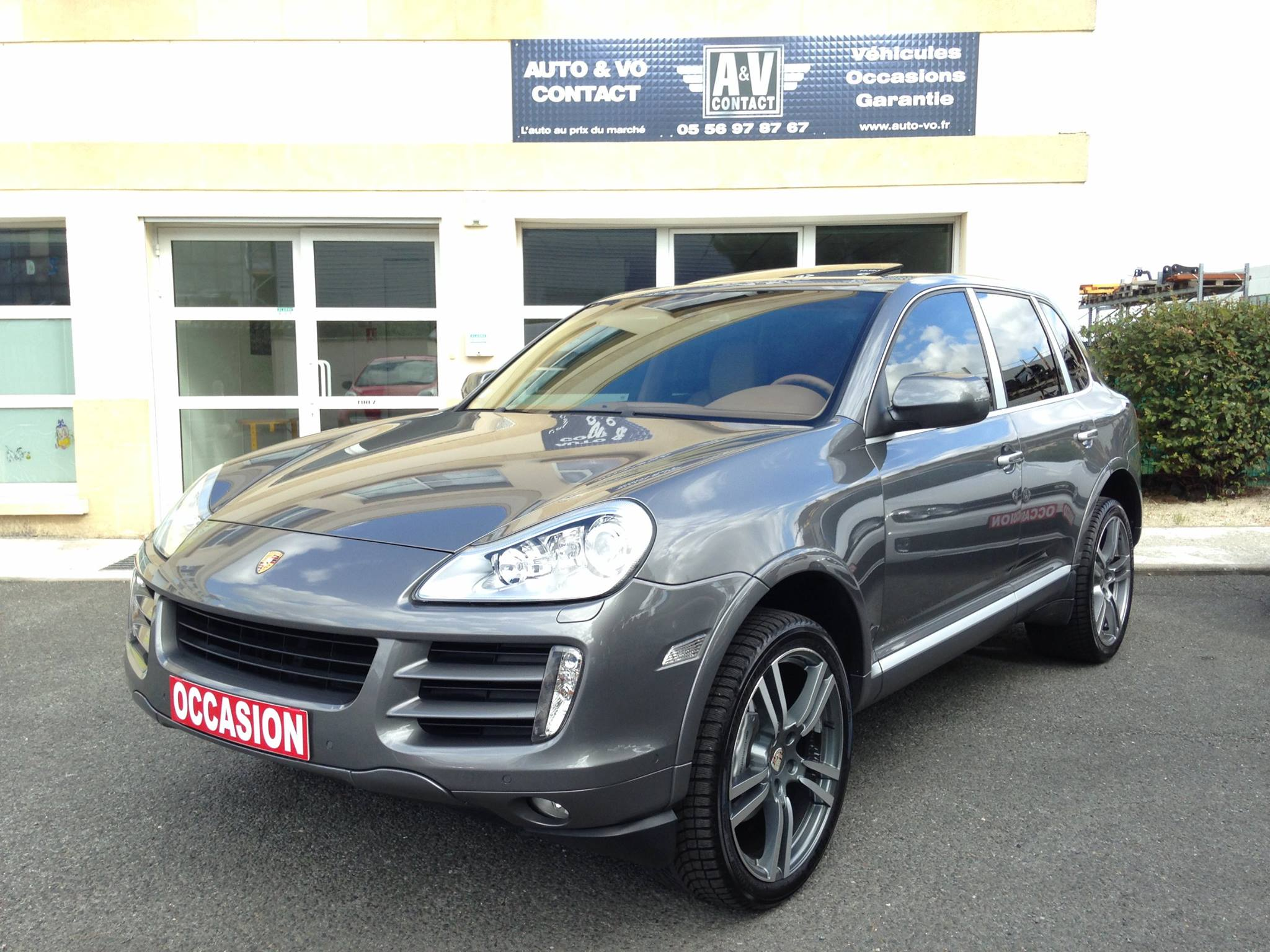 porsche cayenne s phase 2 4 8 v8 385 ch tiptronic du 112 900 kms vendu sarl. Black Bedroom Furniture Sets. Home Design Ideas