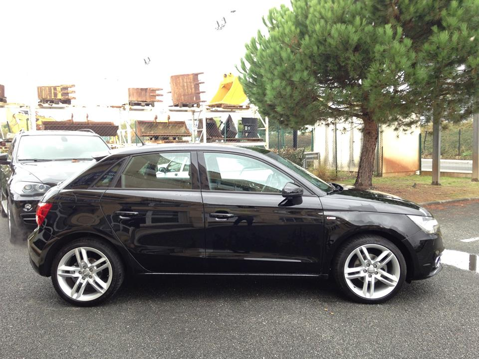 audi a1 sportback 1 2 tfsi 86 s line du 65 150 kms vendu sarl auto vo contact. Black Bedroom Furniture Sets. Home Design Ideas
