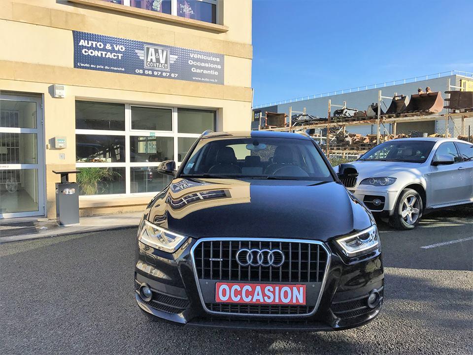audi q3 2 0 tdi 177 ch ambition luxe quattro s tronic 7 du 121 500 kms vendu. Black Bedroom Furniture Sets. Home Design Ideas