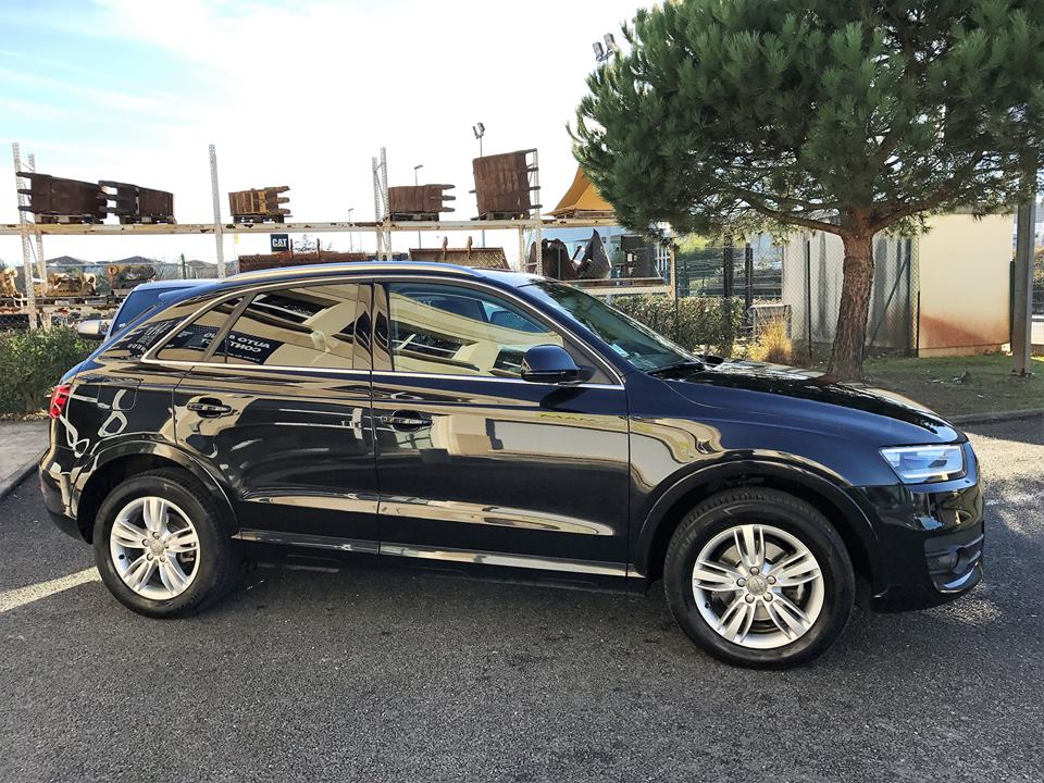 audi q3 2 0 tdi 177 ch ambition luxe quattro s tronic 7 du 121 500 kms vendu. Black Bedroom Furniture Sets. Home Design Ideas