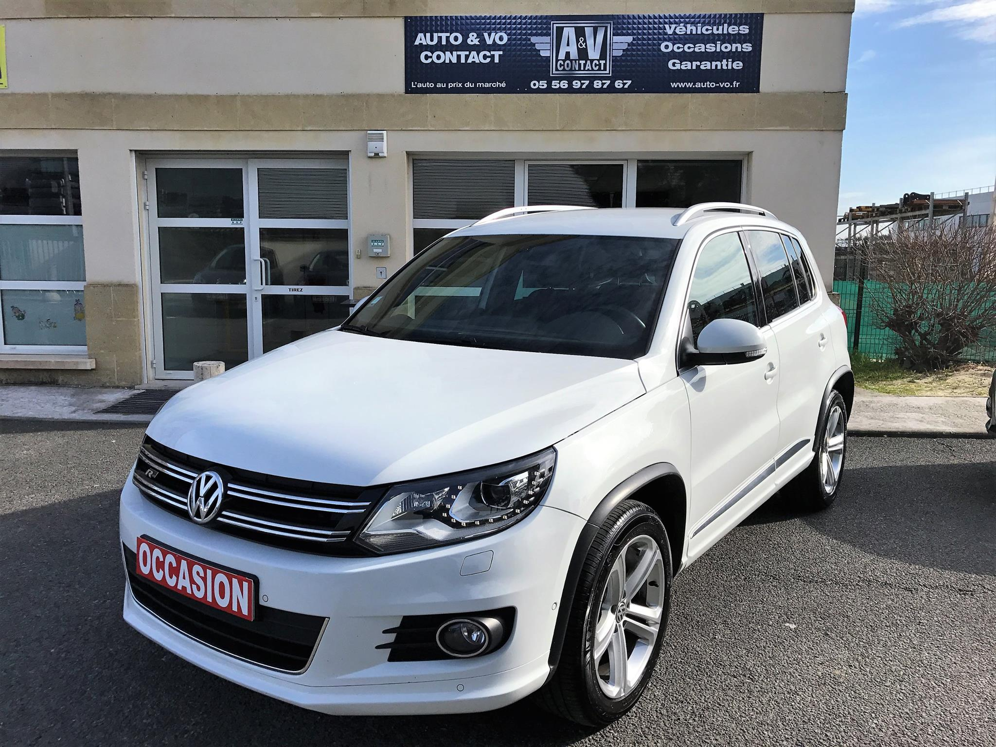 volkswagen tiguan 2 0 tdi 140 r line du 127 500 kms vendu sarl auto vo contact. Black Bedroom Furniture Sets. Home Design Ideas