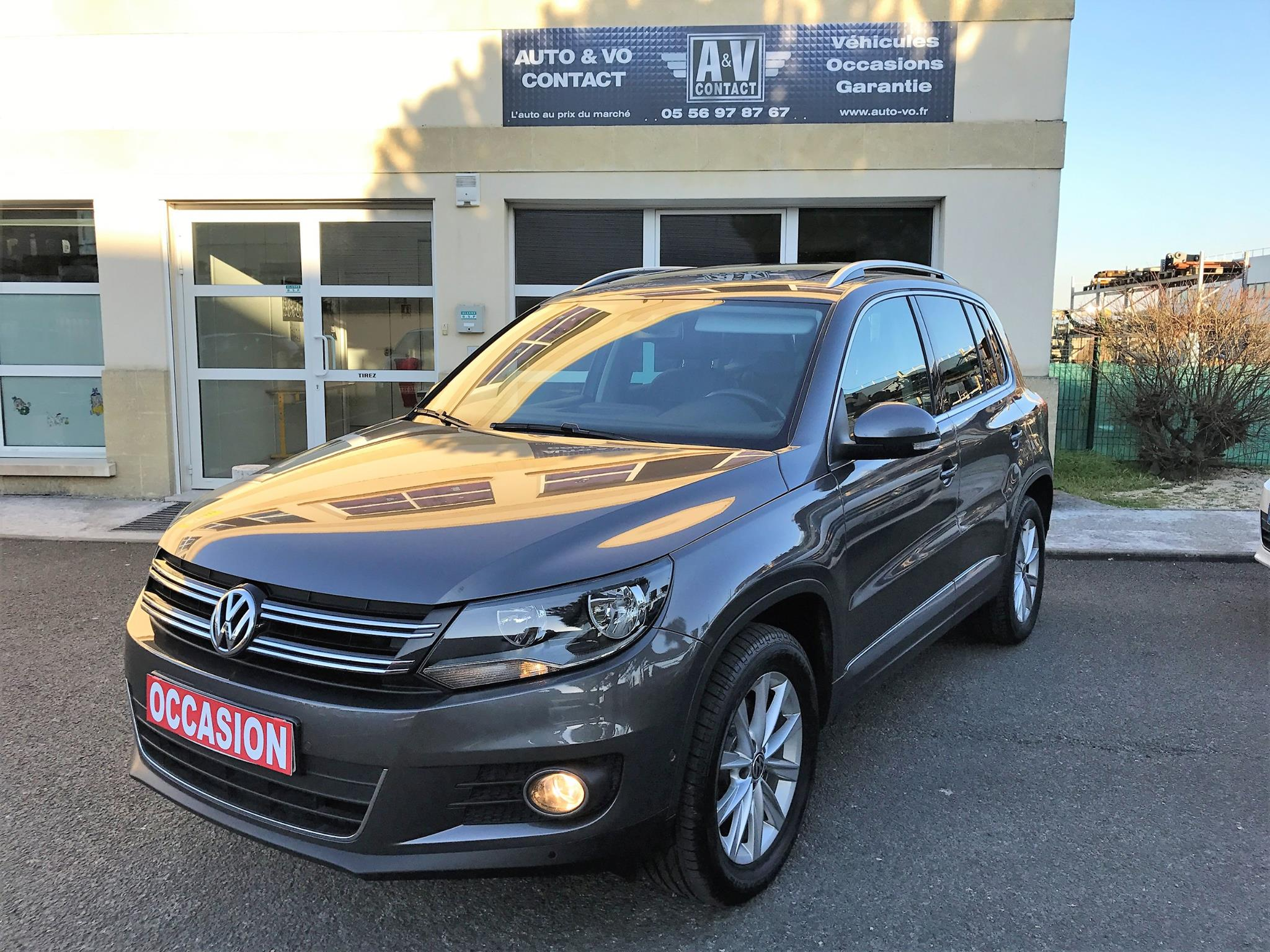 volkswagen tiguan 2 0 tdi 140 carat du 134 600 kms vendu sarl auto vo contact. Black Bedroom Furniture Sets. Home Design Ideas