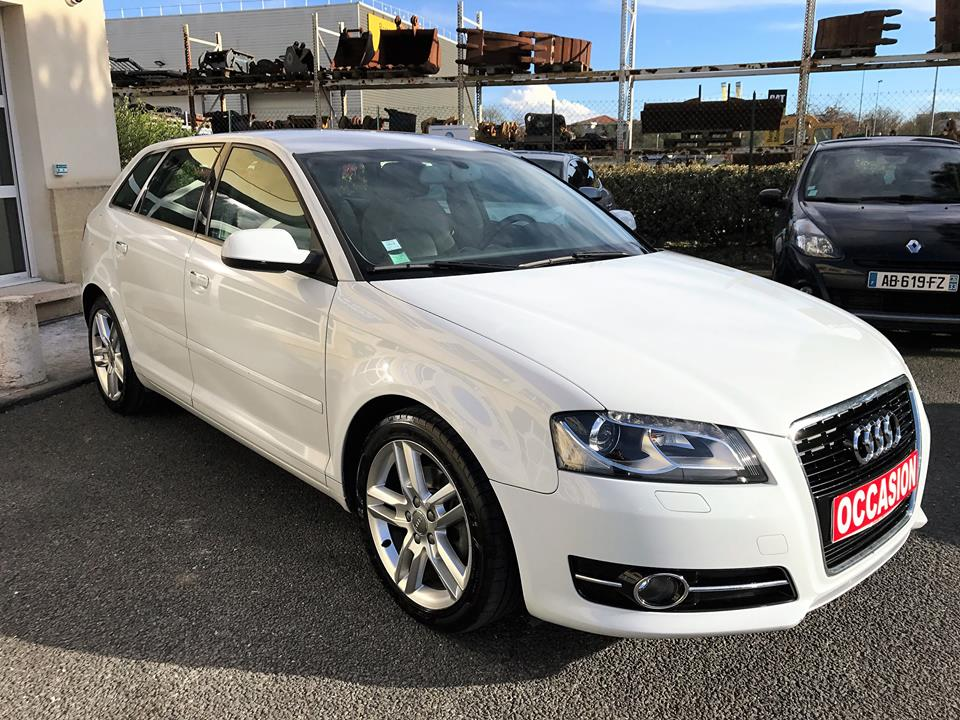 audi a3 sportback 2 0 tdi 140 ambition luxe du 81 250 kms vendu sarl auto vo. Black Bedroom Furniture Sets. Home Design Ideas
