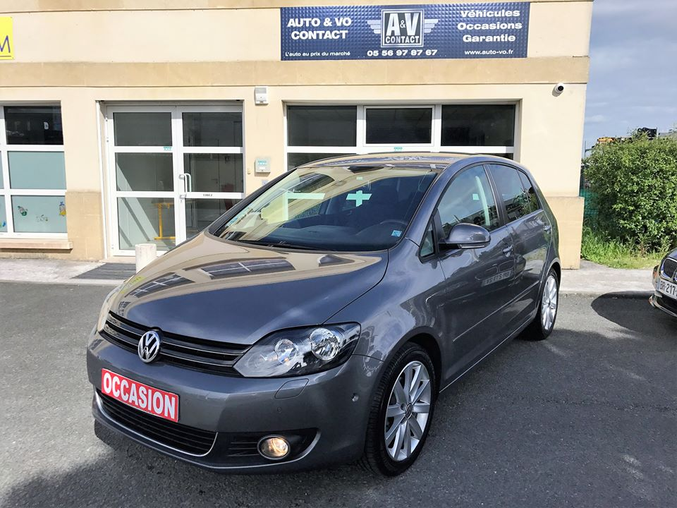 volkswagen golf plus 1 6 tdi 105 fap carat dsg7 du 15 200 kms vendu sarl auto. Black Bedroom Furniture Sets. Home Design Ideas
