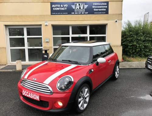 MINI COOPER D 112CH PACK RED HOT CHILI Du 22.06.2011 – 121 650 KMS – VENDU