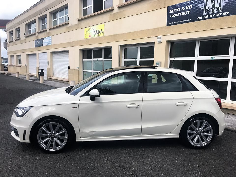 audi a1 sportback 1 4 tfsi 185 ch ambition luxe s line s tronic 7 du 79 050 kms. Black Bedroom Furniture Sets. Home Design Ideas