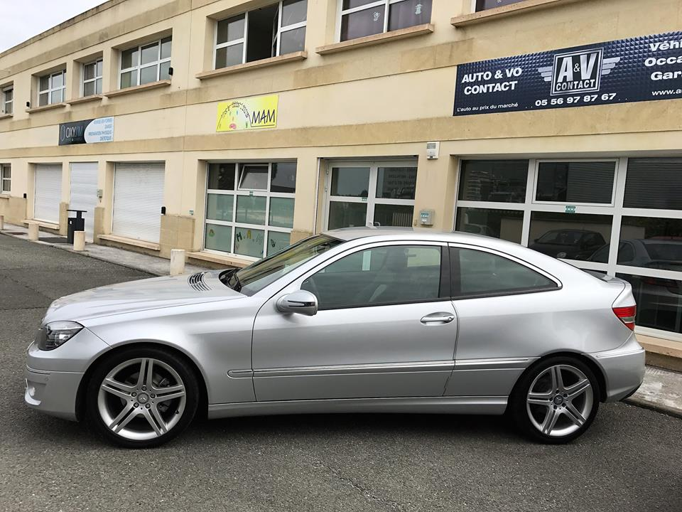 mercedes classe c coupe sport clc 200 cdi ba du 700 kms vendu sarl auto vo. Black Bedroom Furniture Sets. Home Design Ideas