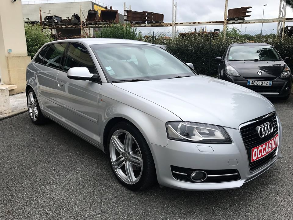 audi a3 sportback 1 4 tfsi 125 s line s tronic 7 du 47 950 kms vendu sarl auto. Black Bedroom Furniture Sets. Home Design Ideas