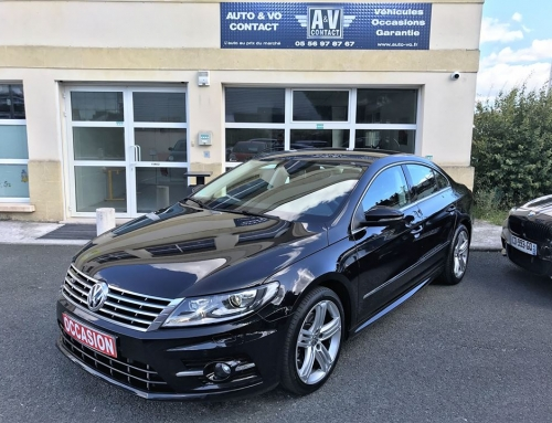 VOLKSWAGEN PASSAT CC 2.0 TDI 140 R-LINE BlueMotion Technology Du 12.12.2013 – 40 750 KMS – VENDU