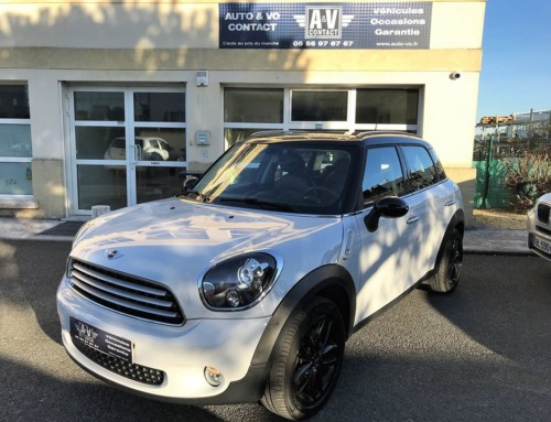 MINI COUNTRYMAN 122 CH PACK RED HOT CHILI Du 22.08.2013 – 48 580KMS – VENDU