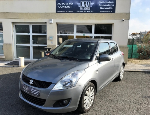 SUZUKI SWIFT 1.3 DDIS PACK 5P Du 20.06.2014 – 71 100 KMS – VENDU
