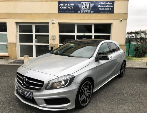 MERCEDES CLASSE A 220 CDI FASCINATION PACK AMG 7G-DCT Du 02.12.2013 – 39 000KMS – VENDU