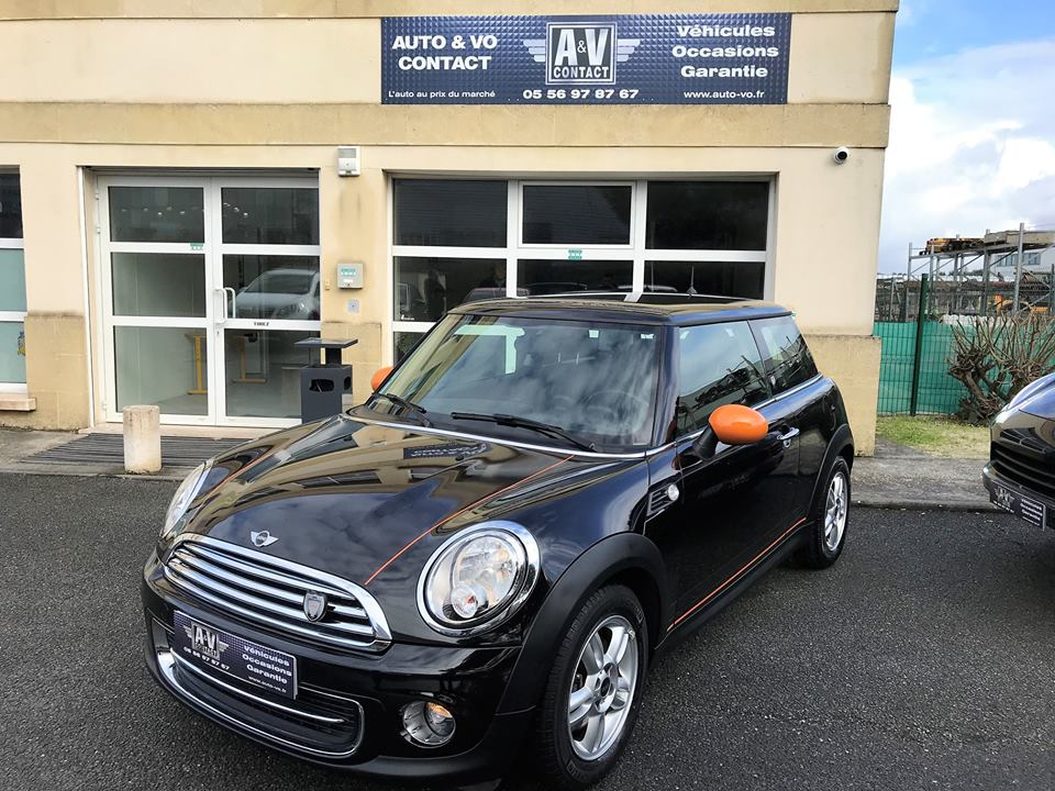 MINI ONE 75 CH DOCKLANDS Du 15.11.2012 – 37 820 KMS – VENDU