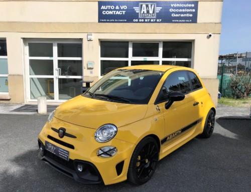 FIAT 500 ABARTH 1.4 180CH 595 COMPETIZIONE BVA Du 02.03.2017 – 12 500 KMS – VENDU