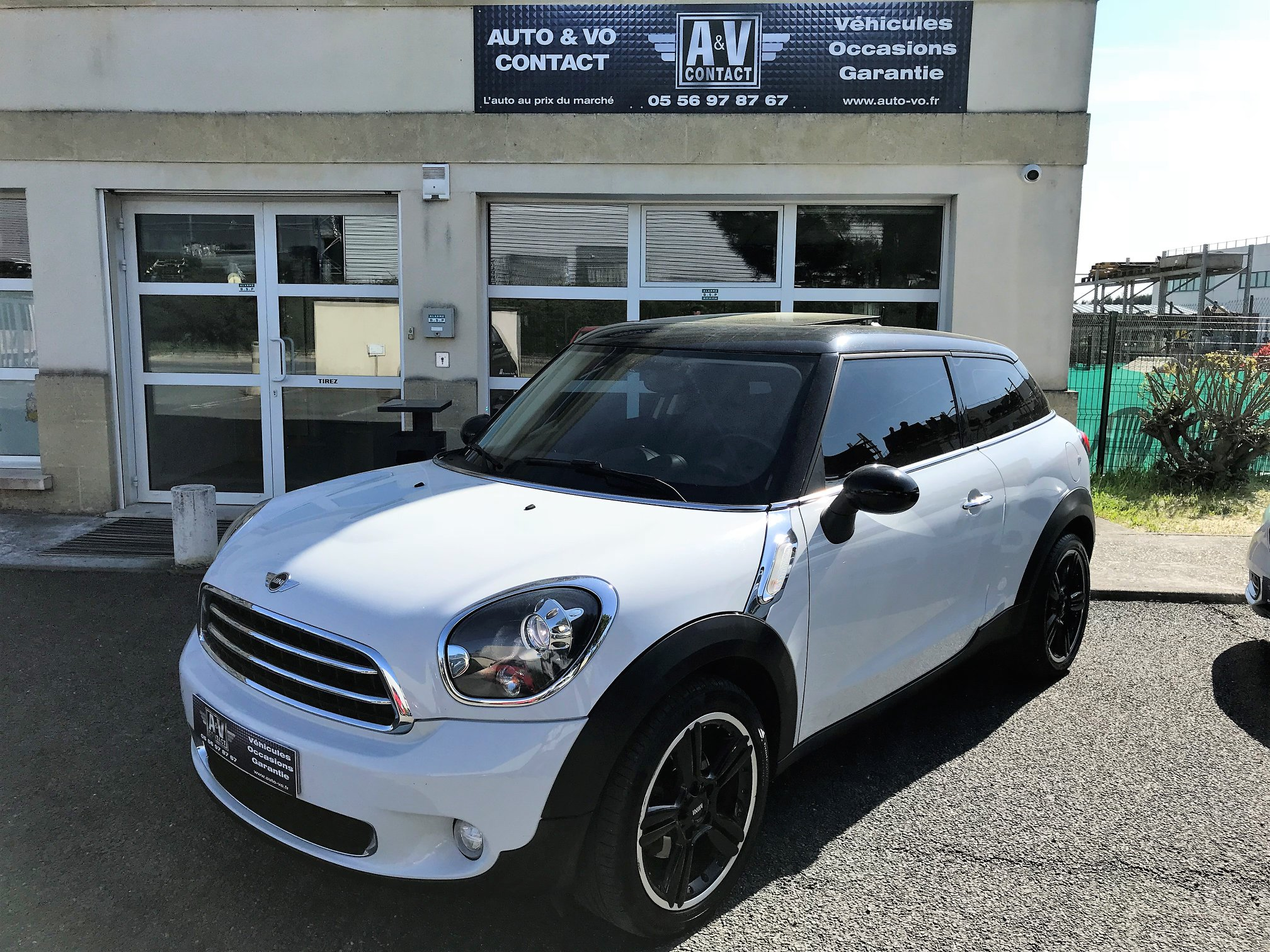 MINI PACEMAN COOPER D 112CH PACK RED HOT CHILI II BVA Du 17.07.2013 – 143 800 KMS – VENDU