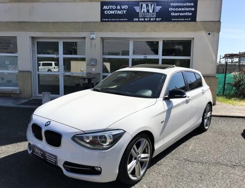 BMW SERIE 1 120D 184 CH SPORT 5P Du 28.12.2011 – 132 790 KMS – VENDU
