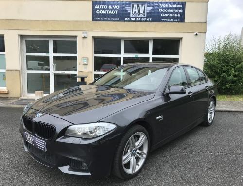BMW SERIE 5 535 XDA 313 CH SPORT DESIGN XDRIVE PACK M F10 Du 28.03.2012 – 93 000 KMS – 27 990€