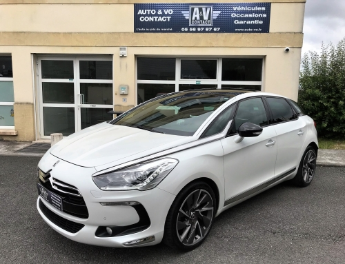CITROEN DS5 2.0 BlueHDI 180 SPORT CHIC BA Du 31.03.2014 – 82 850 KMS – 16 990 €