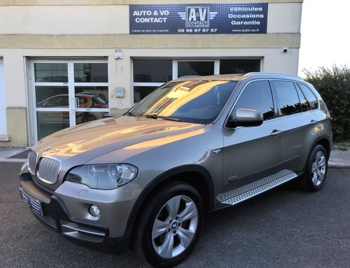 BMW X5 3.0 SDA 286 CH EXCLUSIVE 7 Places Du 19.08.2008 – 96 000 KMS – VENDU