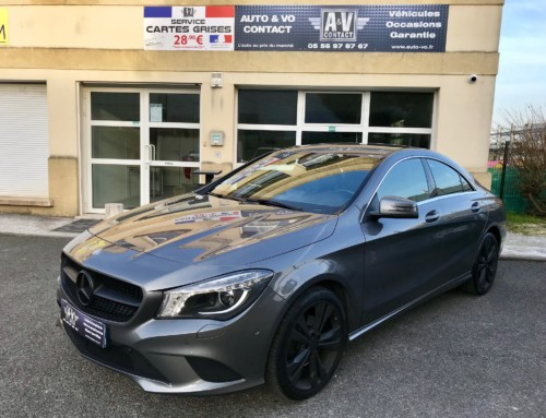 MERCEDES CLA 200 CDI SENSATION Du 30.12.2013 – 93 800 KMS – 19 490 €
