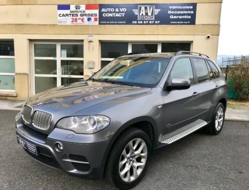 BMW X5 XDRIVE40DA 306 CH PACK LUXE Du 27.10.2011 – 134 950 KMS – 21 990€