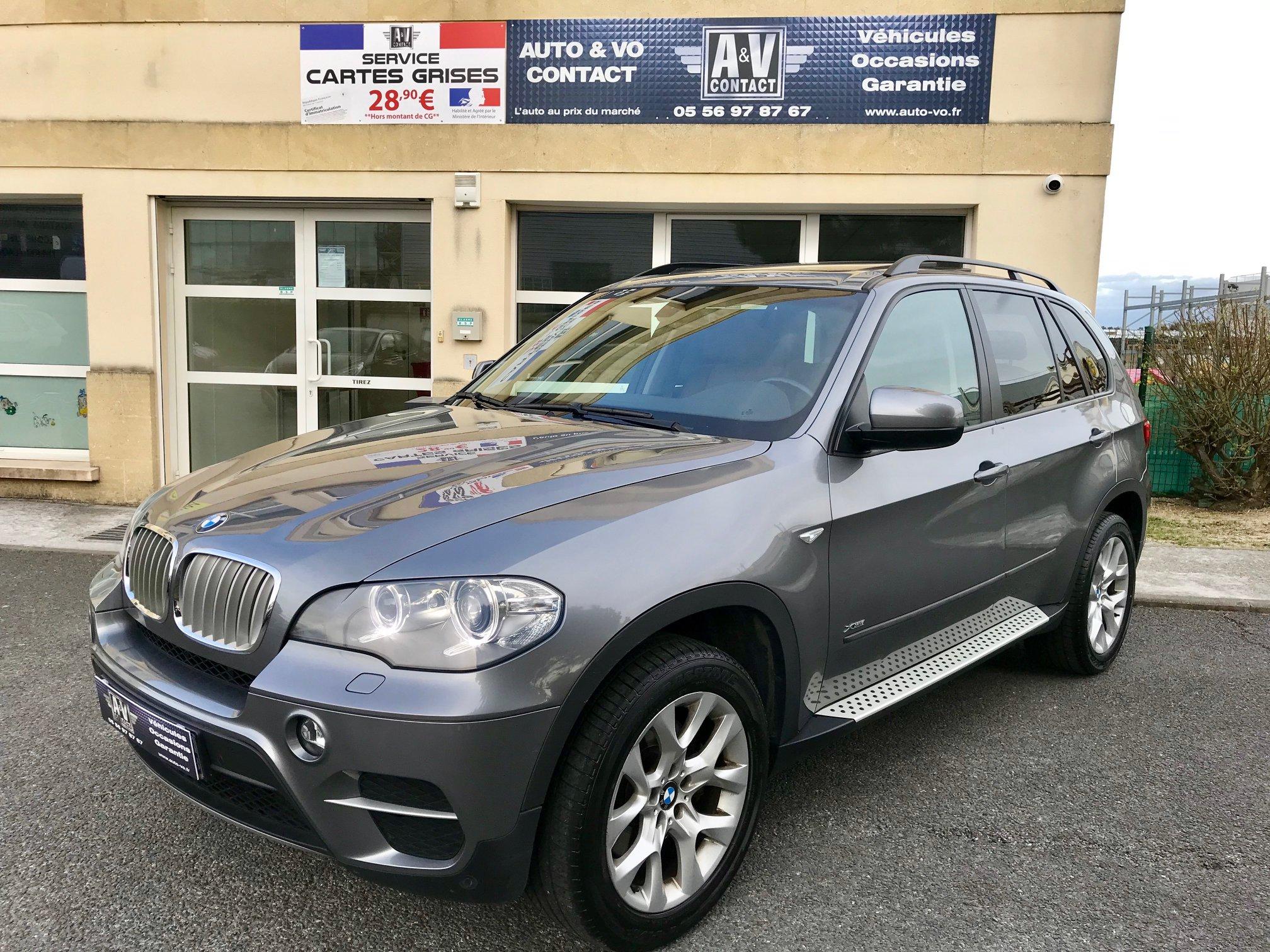 BMW X5 XDRIVE40DA 306 CH PACK LUXE Du 27.10.2011 – 136 200 KMS – VENDU