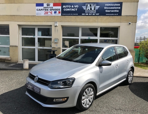 VOLKSWAGEN POLO 1.6 TDI 90 CONFORTLINE BUSINESS Du 02.02.2011 – 112 300 KMS – 8 290 €- VENDU