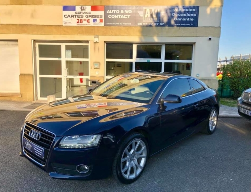 AUDI A5 3.0 V6 TDI 240 AMBITION LUXE QUATTRO S TRONIC 7 Du 10.05.2011 – 119 000 kms – 16 490€