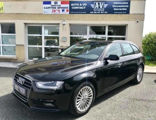 AUDI A4 AVANT 2.0 TDI 150 AMBIENTE PLUS MULTITRONIC Du 09.10.2013 – 101 550 kms – 15 200€
