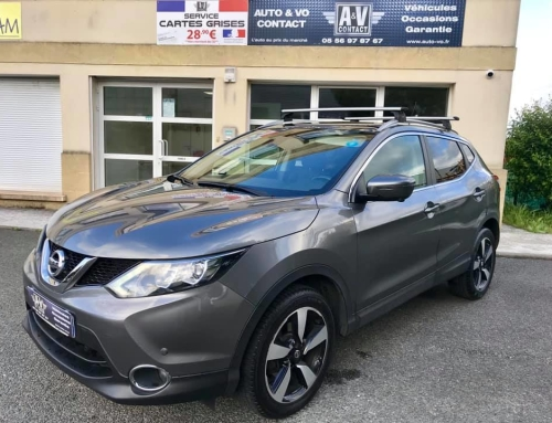 NISSAN QASHQAI 1.5 DCI 110 CONNECT EDITION Du 08.12.2014 – 112 150kms – 13 490€