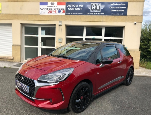 DS DS3 PURETCH 130 S&S PERFORMANCE LINE BVM6 Du 05.10.2017 – 34 120 KMS – 15 490€