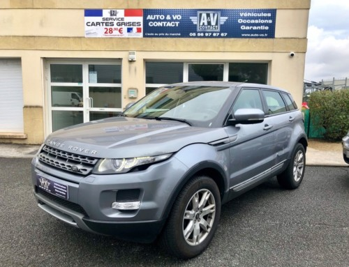 LAND ROVER RANGE ROVER EVOQUE 2.2 ED4 PURE PACK Du 07.08.2013 – 139 900KMS – 16 990 €