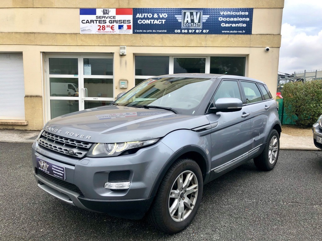 LAND ROVER RANGE ROVER EVOQUE 2.2 ED4 PURE PACK Du 07.08.2013 – 139 900KMS – 15 790 €