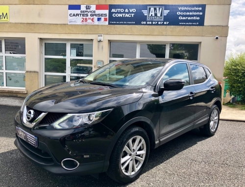 NISSAN QASHQAI 1.5 DCI 110 BUSINESS EDITION Du 23.03.2015 – 70 750 KMS – 14 490 €