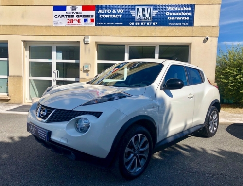 NISSAN JUKE 1.5 DCI 110 S&S SYSTEME CONNECT EDITION Du 10.04.2014 – 104 300 KMS – 9 690 €