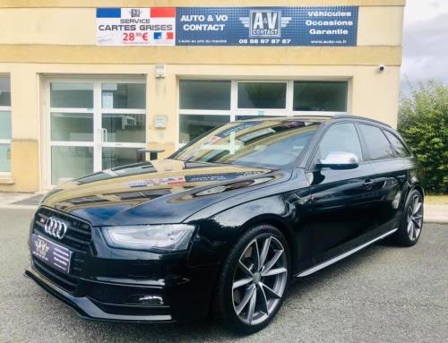 AUDI S4 AVANT 3.0 V6 TFSI 333 CH Du 07.11.2012 – 182 900 KMS – VENDU