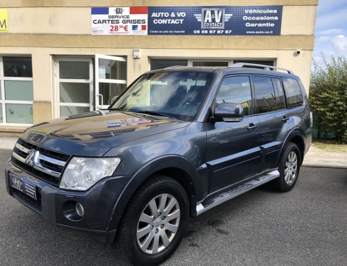 MITSUBISHI PAJERO LONG 3.2 170 CH PACK INSTYLE Du 04.09.2009 – 197 000 KMS – 12 490 €