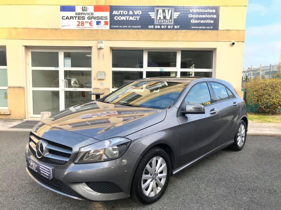 MERCEDES CLASSE A 180 CDI 7G DCT BUSINESS PACK  Du 16.09.2014 – 69 400 kms – VENDU