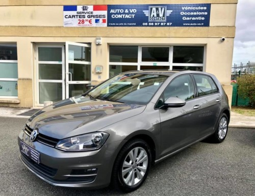 VOLKSWAGEN GOLF VII 1.6 TDI 105 CONFORTLINE BUSINESS 5P Du 20.01.2015 – 113 000 KMS – 12 490 €