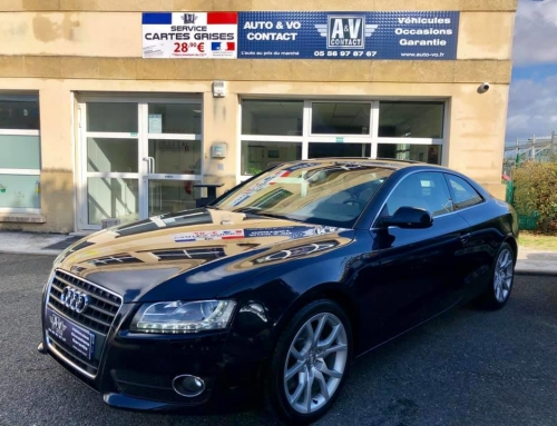 AUDI A5 2.0 TFSI 180 AMBITION LUXE Du 07.12.2010 – 124 900 KMS – 12 490 €