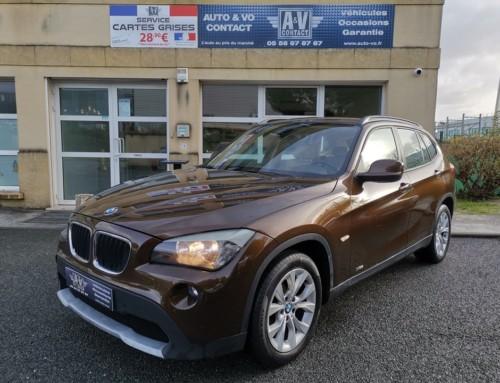 BMW X1 XDRIVE 20DA 177CH LUXE E84 Du 19.03.2010 – 157 950 KMS – VENDU