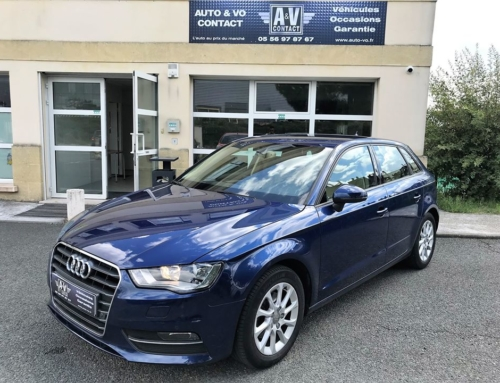 AUDI A3 SPORTBACK 2.0 TDI 150 ch AMBITION LUXE Du 27.02.2013 – 180 200 KMS – 10 790 €