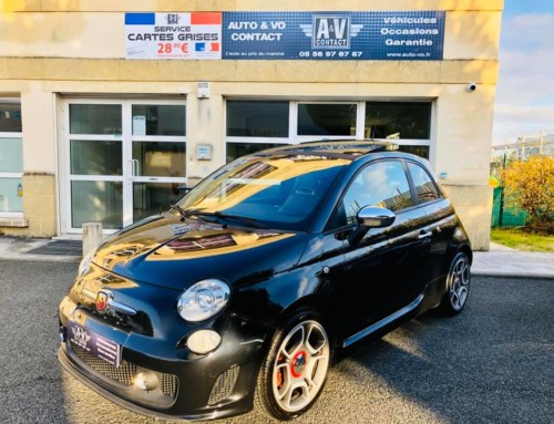 FIAT 500 ABARTH 1.4 TURBO T-JET 135 CH Du 16.11.2011 – 85 900 KMS – VENDU