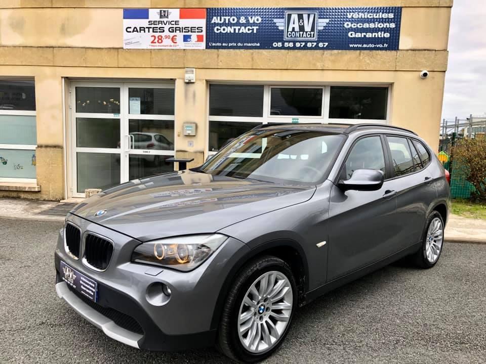 BMW X1 XDRIVE 20DA 177CH LUXE E84 Du 10.05.2010 – 132 750 KMS – VENDU