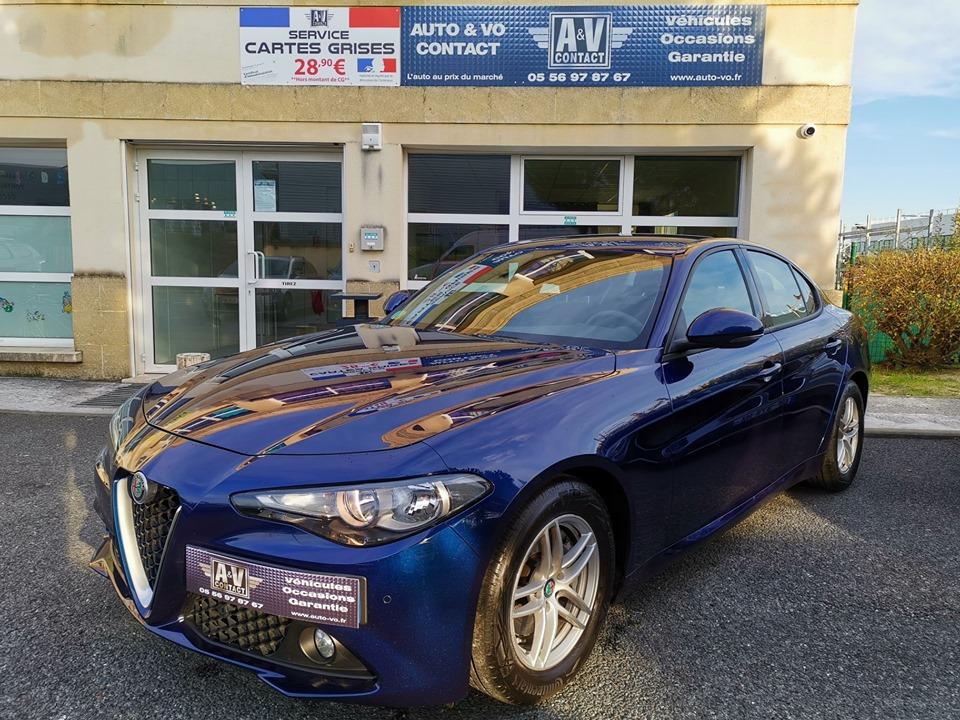 ALFA ROMEO GULIA 2.2L JTD 16V 150 CH Du 02.09.2016 – 58 450 KMS – 20 490 €