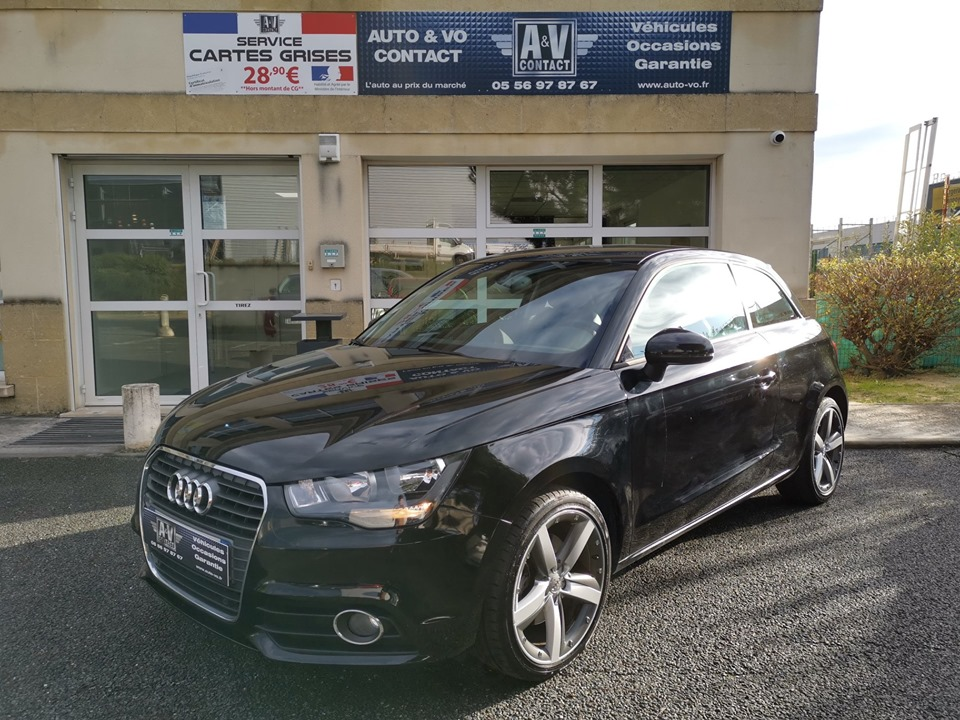 AUDI A1 3P 1.4 TFSI 122 CH S TRONIC AMBITION LUXE Du 16.04.2014 – 99 800 KMS – 12 990 €